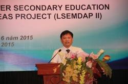 Giám đốc Dự án Đào Ngọc Nam phát biểu tại Hội thảo