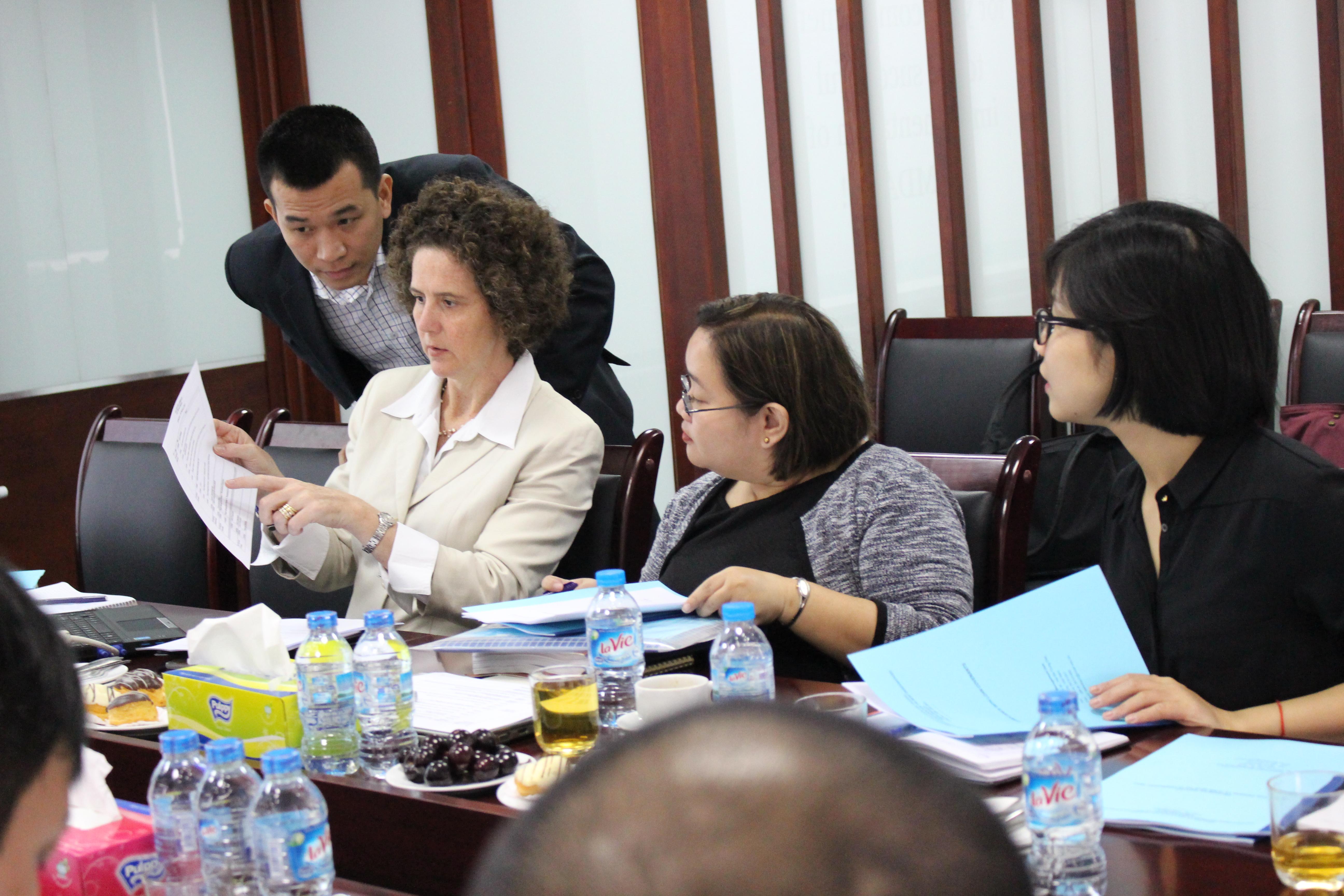 Chuyên gia nước ngoài làm việc tại dự án